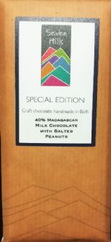 45% Madagascan Milk Chocolate with Salted Peanuts